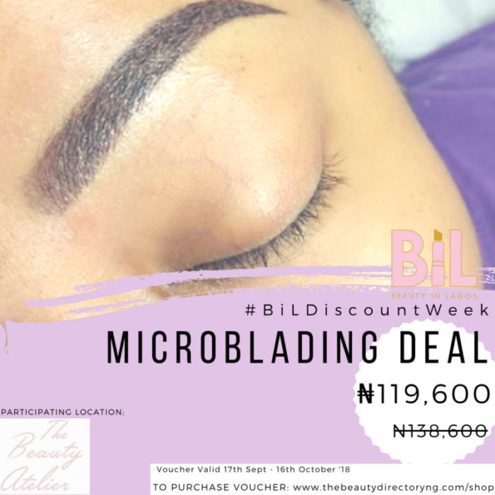 THE BEAUTY ATELIER | Discount on Lashes & Microblading