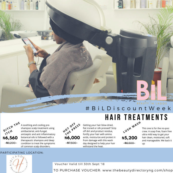HAIRITAGE HUB | Discount on Wash-Day Hair Treatments