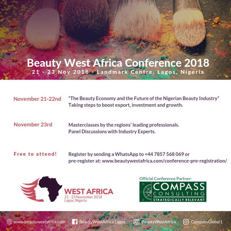 FINALLY! A WORLD-CLASS BEAUTY TRADE SHOW IS COMING TO LAGOS